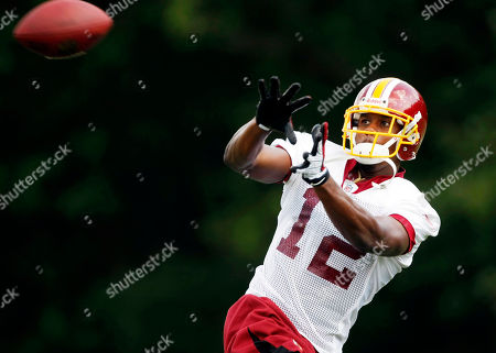 Malcolm Kelly Washington Redskins wide receiver Malcolm Kelly catches a pass during the afternoon session of training camp at Redskins Park, in Ashburn, Va