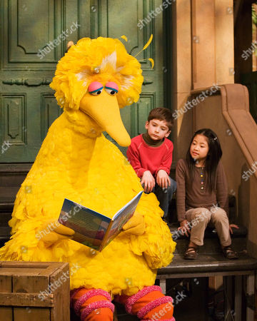 "Caroll Spinney, Big Bird Muppet character Big Bird reads to Connor Scott and Tiffany Jiao during a taping of the children's program ""Sesame Street"" in New York. Sesame Street continues to attract millions of viewers after 45 years on the air, appealing to both preschoolers and their parents with content that is educational and entertaining. The show has kept up with the times by making its segments faster-paced, by fine-tuning messages, and by keeping a steady flow of appearances by contemporary celebrity guests. The show first aired Nov. 10, 1969"