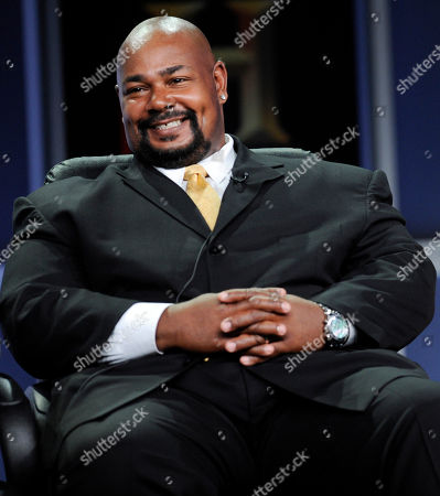 """Kevin Michael Richardson Kevin MIchael Richardson, a cast member in the A&E drama series """"The Cleaner,"""" participates in a panel discussion during the Television Critics Association summer press tour in Beverly Hills, Calif"""