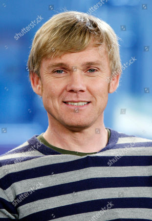 """Ricky Schroeder Actor Ricky Schroeder appears on the NBC """"Today """" television show, in New York, about his new movie """"The Andromeda Strain,"""" for the A&E televison network"""