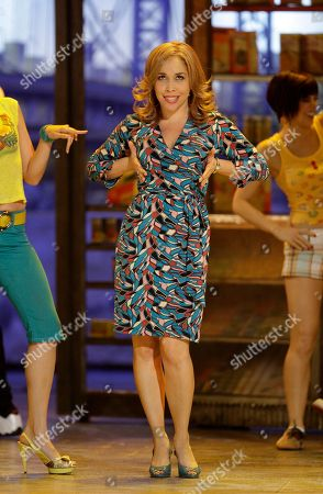 """Andrea Burns Andrea Burns performs a number from the musical """"In the Heights"""" at the 62nd Annual Tony Awards in New York"""