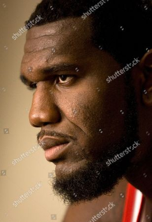 Greg Oden Portland Trail Blazers center Greg Oden is shown during the Blazers media day in Portland, Ore