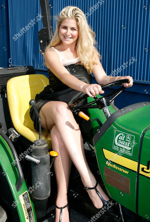 "Stock Photo of Josie Goldberg Josie Goldberg, a contestant on the CW television show ""Farmer Wants a Wife"", poses for photos in Los Angeles on"