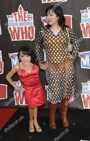 "Margaret Cho Margaret Cho,left, and Selene Luna arrive at the VH1 Rock Honors ""The Who"" on in Los Angeles"