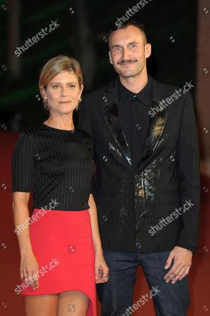 Marina Fois and Sebastien Marnier