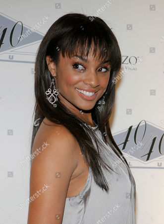 Alesha Renee BET VJ Alesha Renee arrives at the grand opening of Jay-Z's 40/40 Club at the Palazzo hotel and casino in Las Vegas