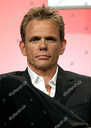 """Stock Photo of Christopher Titus Actor Christopher Titus, of the new television drama """"Big Shots,"""" is seen during the ABC Summer Press Tour in Beverly Hills, Calif"""