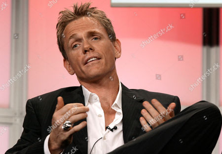 """Christopher Titus Actor Christopher Titus, of the new television drama """"Big Shots,"""" is seen during the ABC Summer Press Tour in Beverly Hills, Calif"""