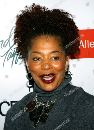 Terry McMillan Author Terry McMillan arrives to the Evidence Dance Company's annual winter gala in New York