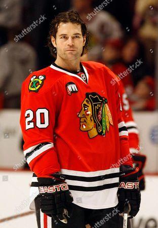 Robert Lang Chicago Blackhawks #20 Robert Lang
