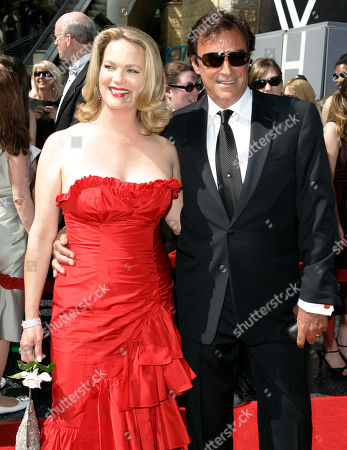 Leann Hunley;Thaao Penghlis Leann Hunley and Thaao Penghlis arrive at the 34th Annual Daytime Emmy Awards in Los Angeles, on