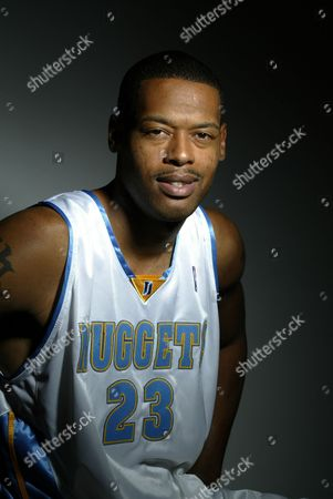 Marcus Camby Denver Nuggets forward Marcus Camby poses for a photo during media day, in Denver