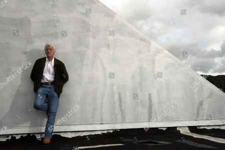 """Roger Deakins Cinematographer Roger Deakins, who was nominated for two Oscars for """"No Country for Old Men"""" and """"The Assassination of Jesse James,"""" poses for a photograph on the roof of the Harmony Gold building in Los Angeles"""