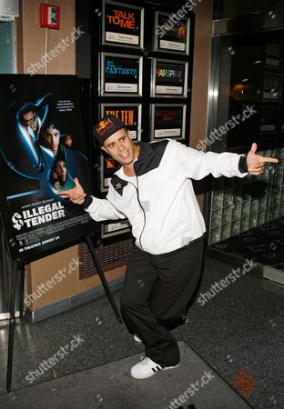 Crazy Legs Crazy Legs of the Rock Steady Crew arrives at the Illegal Tender premiere at the Chelsea West Cinema in New York