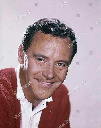 Jack Lemmon is shown in this photo dated 1965 red sweater