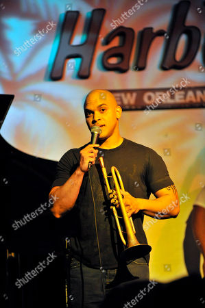 Irvin Mayfield performs at Snug Harbor, jazz club, in New Orleans