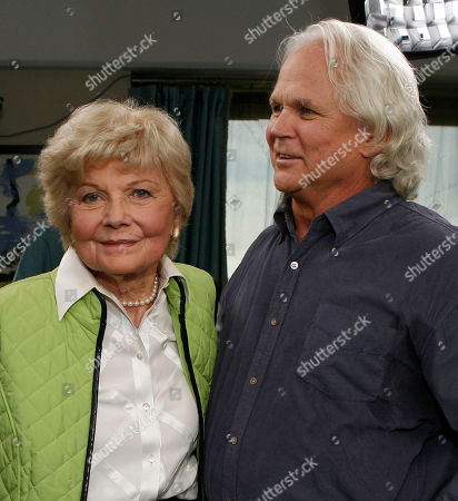 Barbara Billingsley;Tony Dow Barbara Billingsley and Tony Dow, members of the cast of Leave It To Beaver, are seen as they are reunited in Santa Monica, Calif. . The show will have its 50th anniversary in which it will be celebrated on the cable channel, TV Land on October 6th and 7th