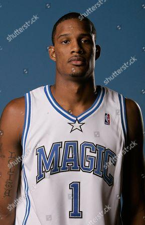 Trevor Ariza Orlando Magic forward Trevor Ariza poses for a photo during the basketball team's media day in Orlando, Fla
