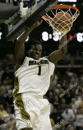 DeMarre Carroll Missouri forward DeMarre Carroll dunks the ball during a college basketball game against Michigan State in Kansas City, Mo