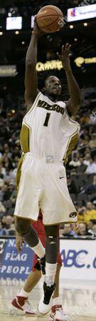 DeMarre Carroll Missouri forward DeMarre Carroll shoots during a college basketball game against Missouri in Kansas City, Mo