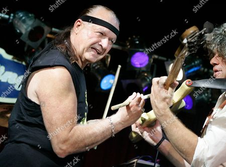 """Dick Dale Dick Dale, known as """"The King of the Surf Guitar,"""" plays a guitar using drum sticks at B.B. King Blues Club in New York . Dale, who has been performing on stage for more than 50 years, turned 70 on May 4, 2007"""