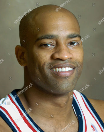 Vince Carter New Jersey Nets' Vince Carter at Nets media day in East Rutherford, N.J