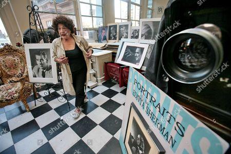 Editorial photo of Obit Editta Sherman, New York, USA