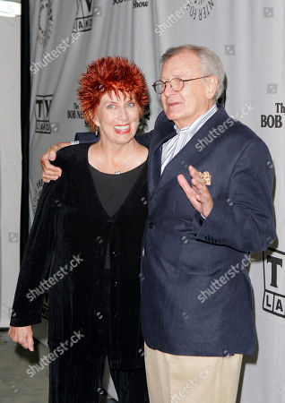 """Marcia Wallace, Bill Daily Actors Marcia Wallace and Bill Daily arrive for TV Land's 35th anniversary tribute to """"The Bob Newhart Show"""" in Beverly Hills, Calif. Wallace, who played a receptionist on the show, and the voice of Edna Krabappel on """"The Simpsons,"""" died Saturday Oct. 26, 2013"""