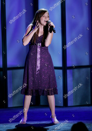 "Stock Photo of Bianca Ryan America's Got Talent"" 2006 winner Bianca Ryan performs during ""Operation Smile"" 25th anniversary gala in Beverly Hills, Calif., . Operation Smile is a worldwide children's medical charity dedicated to improve the health and lives of children and young adults"