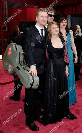 Glen Hansard, Marketa Irglova Glen Hansard and Marketa Irglova arrive at the 80th Academy Awards, in Los Angeles