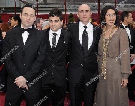 Ron Leshem, Oshri Cohen, Joseph Cedar Ron Leshem, left, Oshri Cohen, second left, Joseph Cedar and an unidentified woman, right, arrive at the 80th Academy Awards at the Kodak Theatre in Los Angeles
