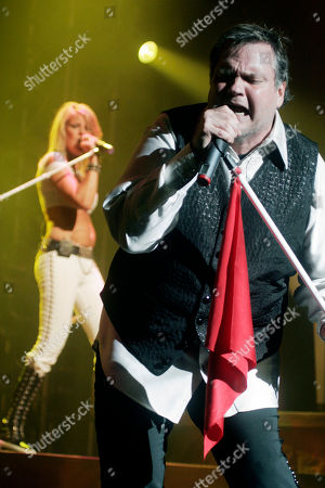 Meat Loaf Singer Michael Lee Aday, who goes by the stage name Meat Loaf, performs at a concert in New York's Madison Square Garden