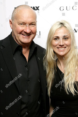 Randy Quaid Actor Randy Quaid and his wife, Evi, arrive to a premiere in New York