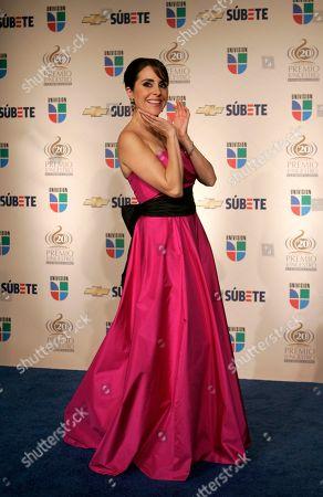 Karyme Lozano Karyme Lozano at the Premio Lo Nuestro Latin Music Awards in Miami Thursday, Feb.21, 2008
