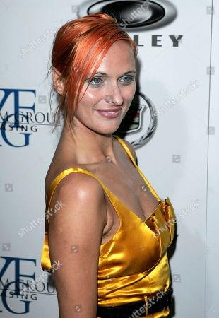 "Dominika Wolski Dominika Wolski arrives at the premiere of ""Resurrecting The Champ"" in Beverly Hills, Calif"