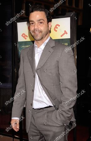 """Maury Ginsberg Maury Ginsberg attends the premiere of """"Rocket Science"""" in New York"""
