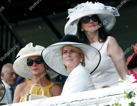 Pamela Gale; Felicia Taylor; Pat Altschul Pamela Gale, left, Felicia Taylor, center, and Pat Altschul watch the third race at the Saratoga Race Course in Saratoga Springs, N.Y