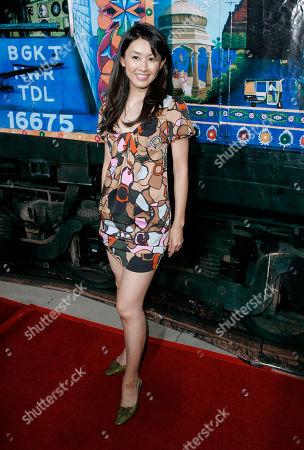 "Eriko Tamura Actress Eriko Tamura arrives to the premiere of ""The Darjeeling Limited"" in Beverly Hills, Calif"
