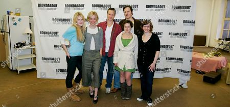 """Lily Rabe, Sarah Paulson, Chandler Williams, Jennifer Dundas, Patch Darragh,Jessica Stone The cast of the RoundaboutTheater company's production of """"Crimes of the Heart"""" pose during a photocall at their rehearsal space. in New York. They are from left to right, Lily Rabe, Sarah Paulson, Chandler Williams, Jennifer Dundas, Patch Darragh and Jessica Stone. Previews for the show begin Jan. 18 and the opening performance is Feb. 7"""