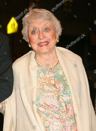 """Celeste Holm Actress Celeste Holm arrives to the Broadway opening of Manhattan Theatre Club's """"Mauritius,"""", in New York, which features actors F. Murray Abraham, Dylan Baker, Bobby Cannavale, Katie Finneran and Alison Pill"""