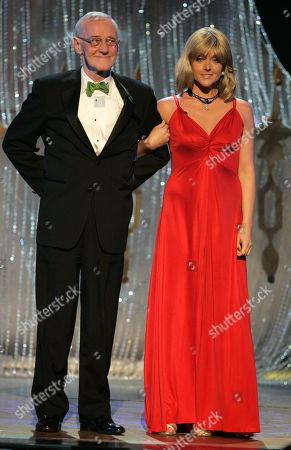 John Mahoney; Jane Krakowski John Mahoney and Jane Krakowski at the 61st Annual Tony Awards in New York