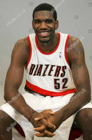 Greg Oden Portland Trail Blazers Greg Oden (52) is shown during media day, in Portland, Ore