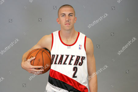 Steve Blake Portland Trail Blazers Steve Blake (2) is shown during media day, in Portland, Ore
