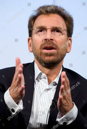 Edgar Bronfman Jr., Chairman and CEO of Warner Music Group, discusses his company and the music industry at The Paley Center for Media in New York. Warner Music Group Corp., the world's third-largest recording company with such artists as Eric Clapton, Michael Buble and Paramore, announced, it is being sold for about $1.3 billion as a global decline in CD sales weighs down the industry