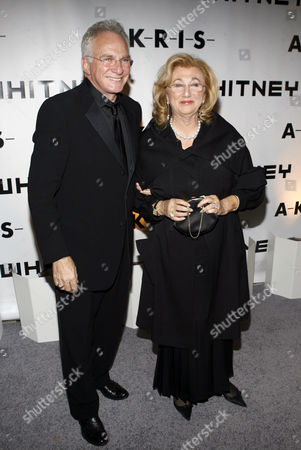 Stock Picture of David Yurman, Sybil Yurman David and Sybil Yurman arrive for the Whitney Gala at the Whitney Museum of American Art, in New York
