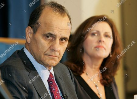 Joe Torre, Ali Torre New York Yankees manager Joe Torre, left, and his wife, Ali, listen during a news conference at Jose Marti Middle School in Union City, N.J., to announce a program to provide a safe environment for students effected by domestic violence
