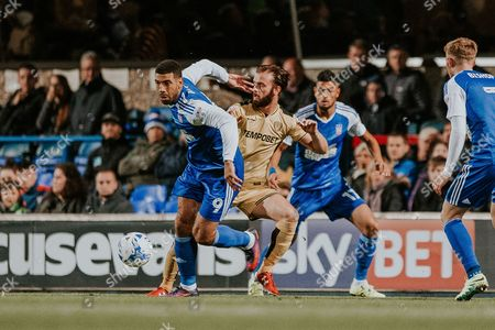 LEON BEST in action in the Sky bet Championship match between Ipswich Town and Burton Albion_