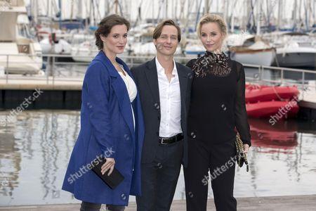 Friederike Becht, Tom Schilling and Sofia Helin
