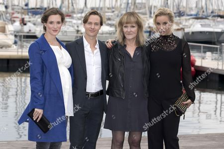 Friederike Becht, Tom Schilling, Paula Milne and Sofia Helin