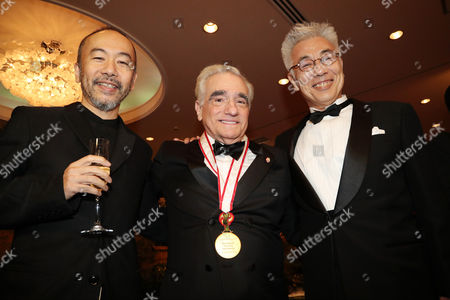Shinya Tsukamoto, Martin Scorsese and Issey Ogata